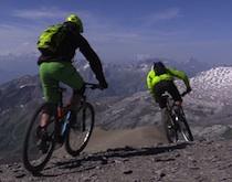 Tournage vidéo au Col du Sanetsch
